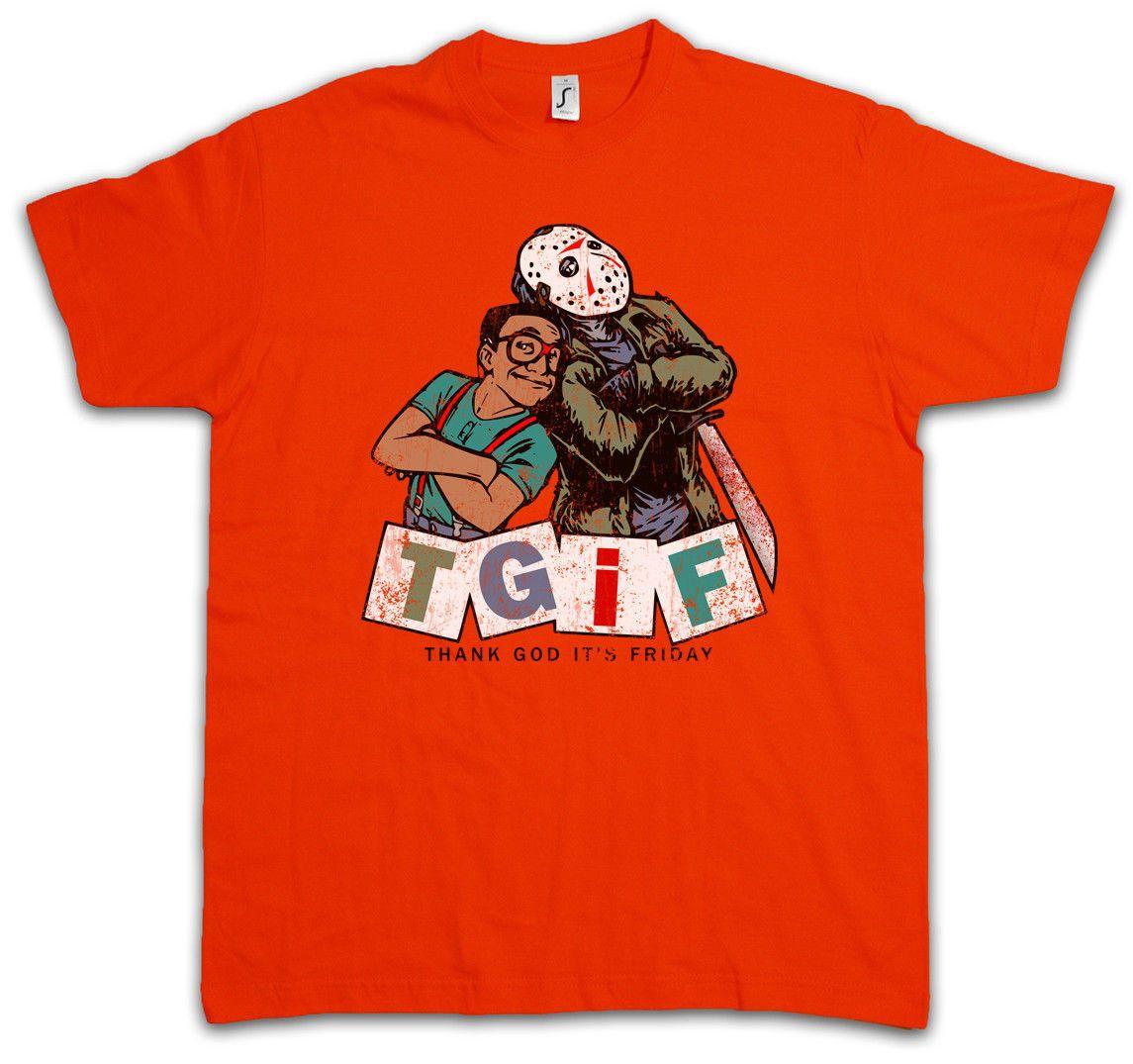 Tgif I T Shirt Thank God Its Friday Family Steve Jason Urkel Fun
