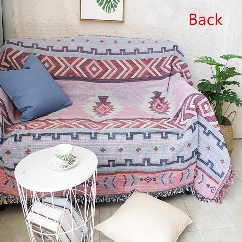 Grosshandel Indischen Stil Geometrie Decke Sofa Dekorative Schonbezug