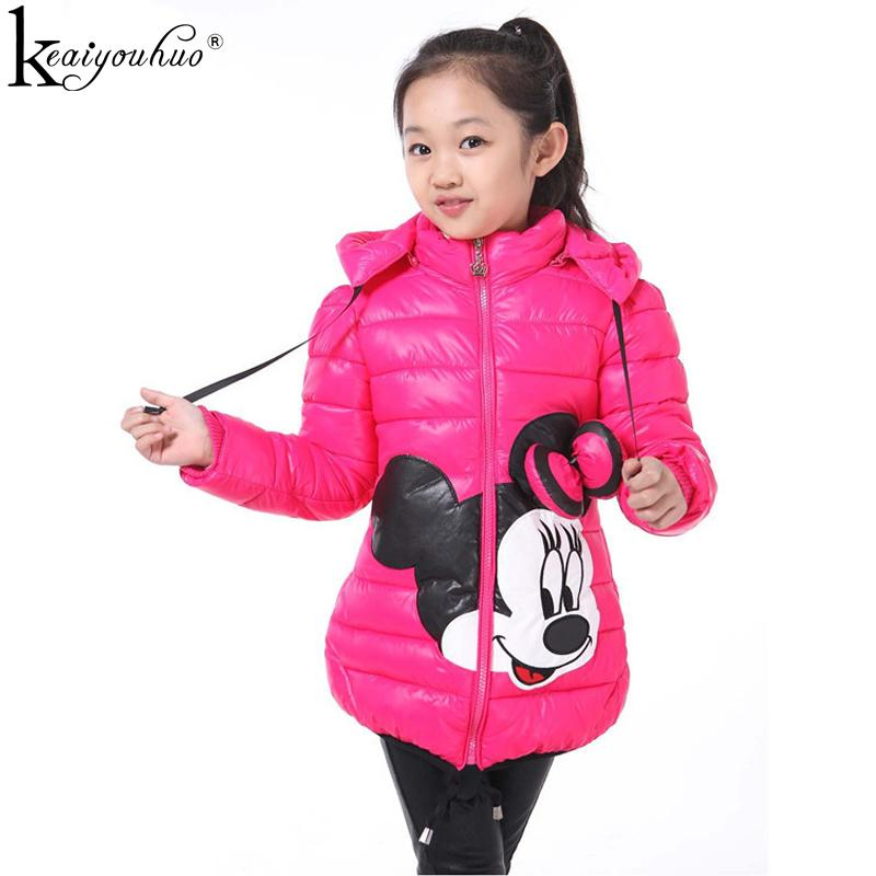 657b6a841 Girls Jacket Fashion Winter Warm Jackes For Girls Coats Kids ...