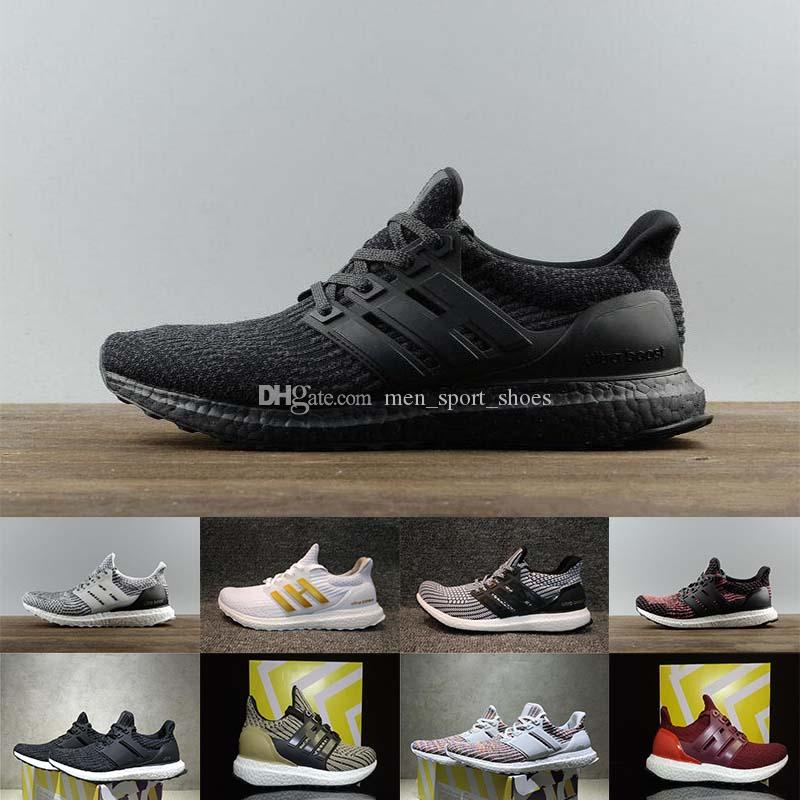 1c7e9b6db 2018 Ultraboost 3.0 4.0 Running Shoes Uncaged 3.0 III Primeknit White Black Men  Women Athletic Shoes Online with  103.18 Pair on Men sport shoes s Store ...