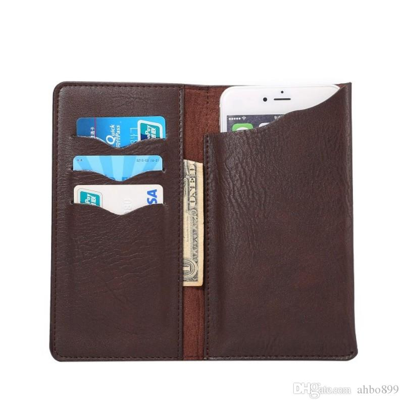 best sneakers 642cd 7c00b Universal Elephant Pattern PU Leather Wallet Sleeve Pouch Case for ZTE  ZFive L LTE/Blade A520/Blade A465
