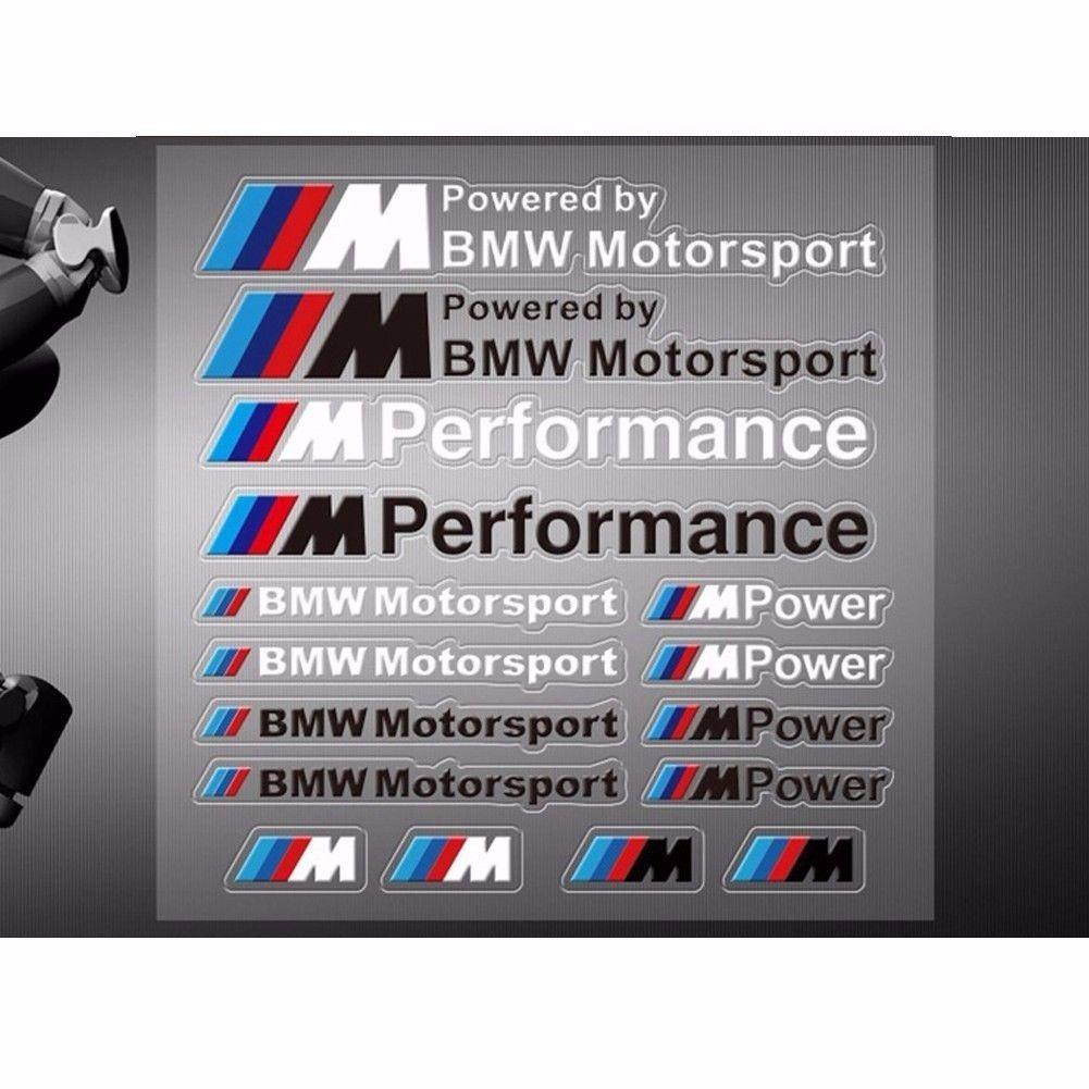 High quality m performance car sticker vinyl decal for bmw motorsport custom car accessories custom car exterior from ouou2018 9 25 dhgate com