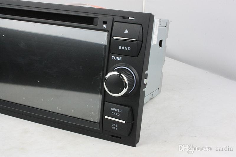 Reproductor de DVD del coche para Ford FOCUS Mondeo 7 pulgadas Andriod 6.0 2GB RAM con GPS, Bluetooth, Radio