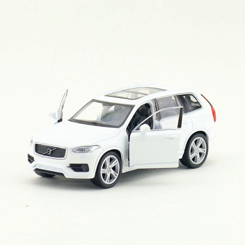 YJ 1/36 Scale Pull Back Car Toys Sweden VOLVO XC90 SUV Diecast Metal Car Model Toy For Gift/Kids/Collection