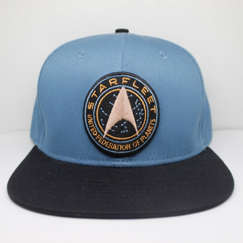Star Trek Logo Hats Fashion Unique Personality Badge Embroidery Gorras Para  Hombre Beisbol Students  Hip Hop Leisure Blue Caps Lids Cap From Fotiaoqia 76ded44080be