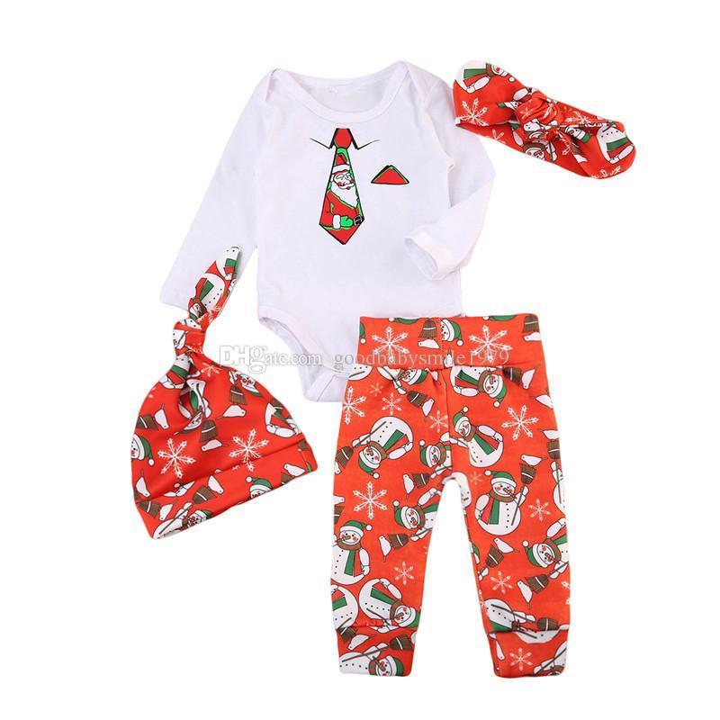 063619318 Compre Trajes De Navidad Del Bebé Niños Niños Niñas Muñeco De Nieve ...