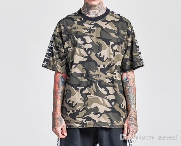 8d7ee43b74 Compre Europeus Homens Americanos Desgaste Popular Logotipo Baggy High  Street Homens Camisetas Retro Esportes T Camisas Camisas De Basquete  Tendência ...
