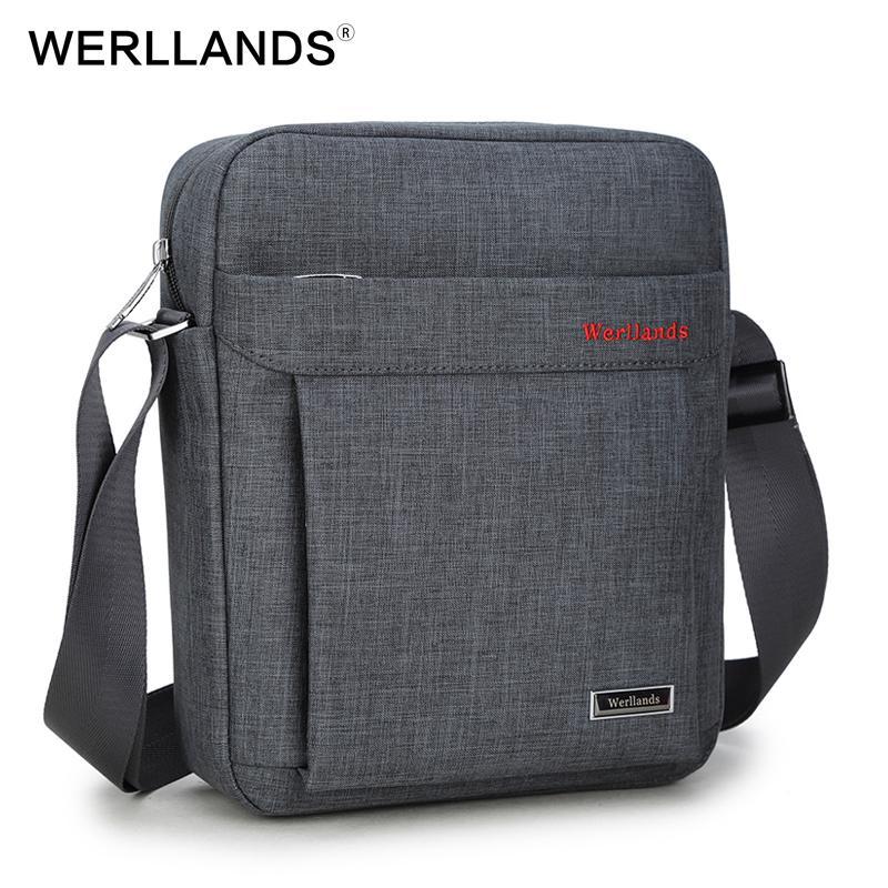 WERLLANDS Shoulder Bags For Men Crossbody Chest Small Travel School Crossbody  Bag Waterproof Luxury Bags Male Cross Body Tote Handbags Relic Purses From  ... 0b942c732ab51
