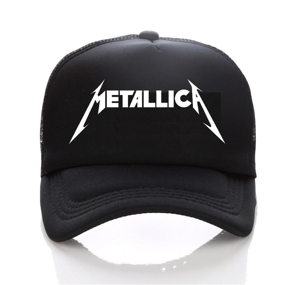 Metallica Cap Men Women Skull Printing Heavy Metal Rock Baseball Cap Rock  Band Men Women Snapback Hats Skull Caps Men Hats From Gwyseller 912fed0d7b2