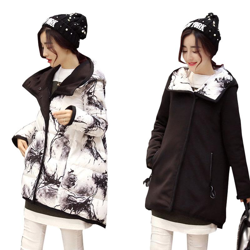 099ca930f5 2019 2017 Ukraine Plus Size Wear On Both Sides Coat Winter Jacket Women  Parka Thicker Womens Down Cotton Jackets Manteau Femme Hiver From Dalivid