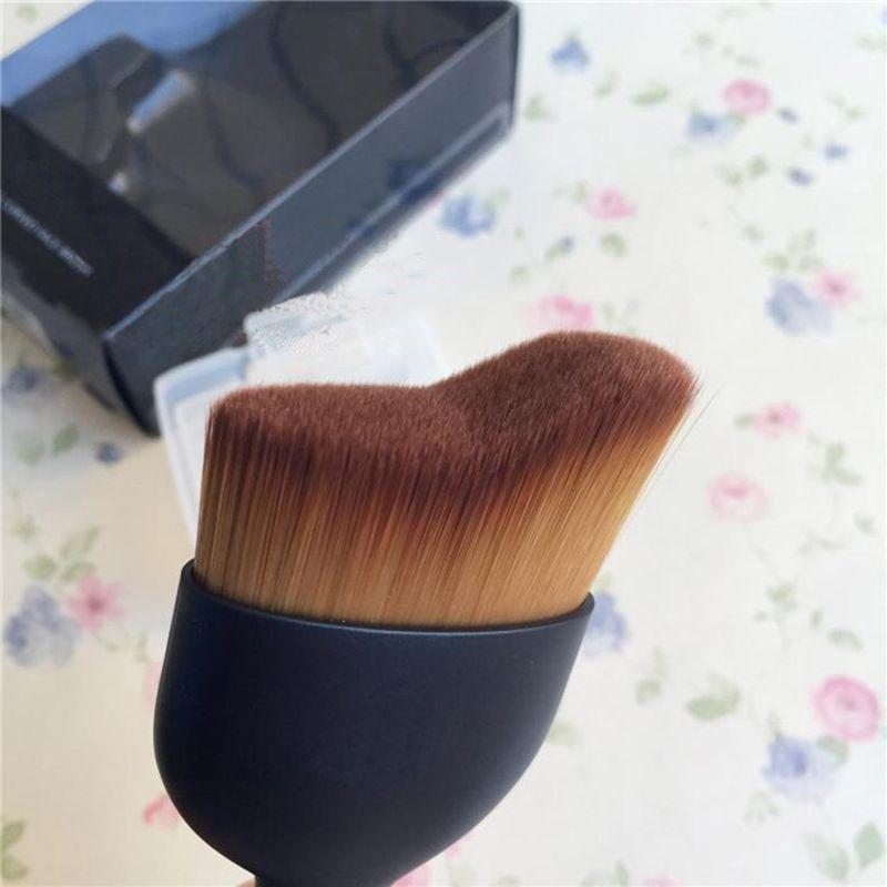 Espoir Pro Tailoring Pinceau cosmétique incurvé pour le visage Pinceau professionnel pour femmes Outils de beauté Maquillage Trousses à outils