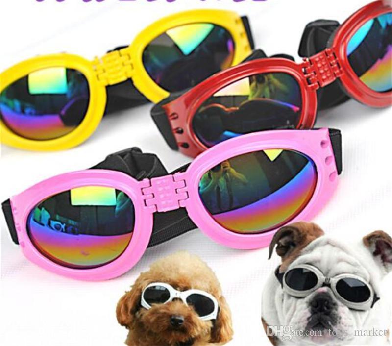 15b60f34f1 Compre 2018 Gafas De Sol Gafas De Sol De Perro De Mascota Gafas De Sol  Protección De Perro Gafas De Sol UV Gafas Gafas De Sol A $1.55 Del  Toys_market ...
