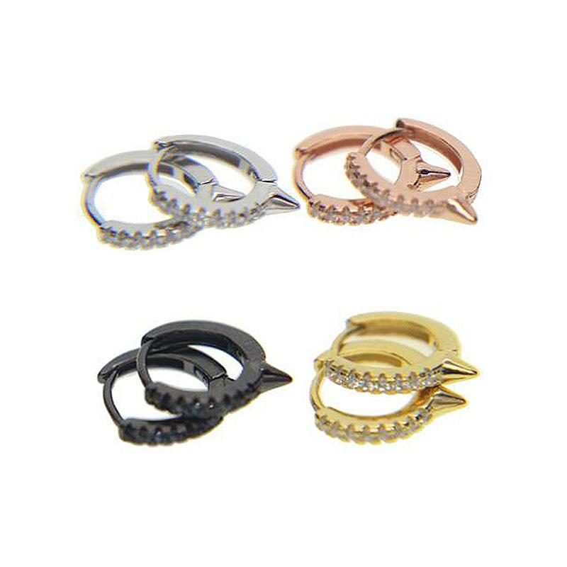 Großhandel 2018 Neue Zarte Micro Gepflastert Aaa Cz Stein Ohr Kreis Minimal  Süß Ohrringe Piercing Schmuck 100% 925 Sterling Silber Für Kinder L18101106  Von ... bb4630b5f8