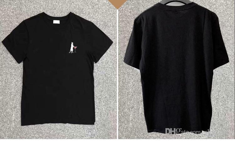 Men T shirt Simple Letter Printed saint T Shirt Paris/SLP Short Sleeve Mens Lauren tags Street Style Tops Tee Shirt free ship 999