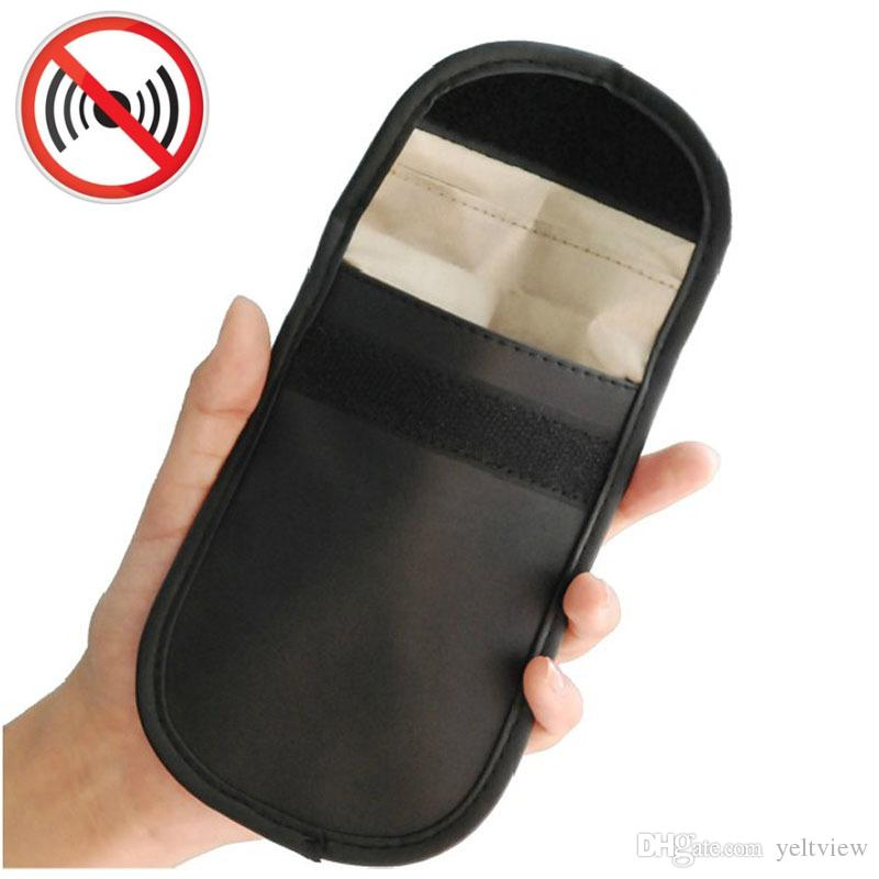 buy popular cdcef 6bb96 Universal Anti-radiation Bag, Anti-tracking Pouch GPS RFID Bag Wallet Phone  CellPhone Case Cover Pocket for iphone bank Cards