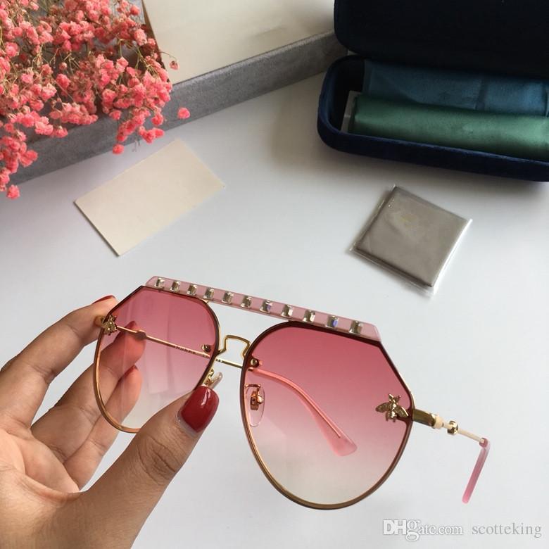 Großhandel Gucci Sunglasses Custom Neue Mode Klassische Sonnenbrille ...