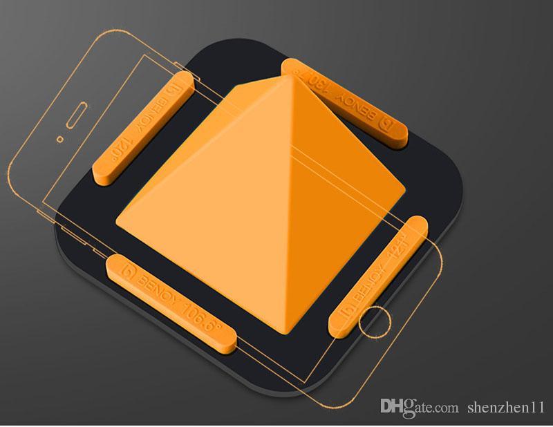 2018 Универсальный держатель мобильного телефона настольная подставка для телефона,Samsung,Xiaomi держатель смартфона нескользящая пирамида держатель STY031