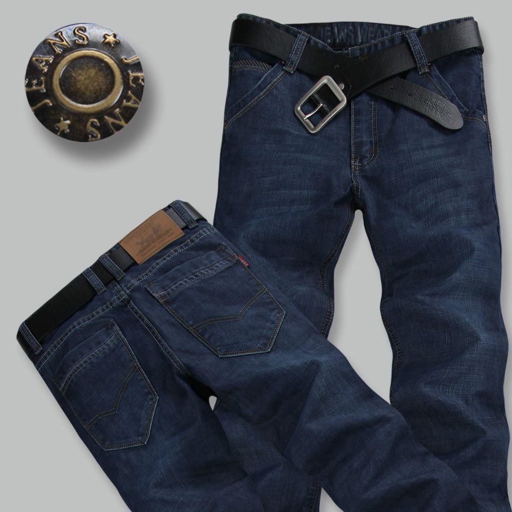 d8c2da129e Compre Pantalones De Los Hombres De Los Pantalones Vaqueros Del Diseñador Al  Por Mayor Al Por Menor Del Envío Libre