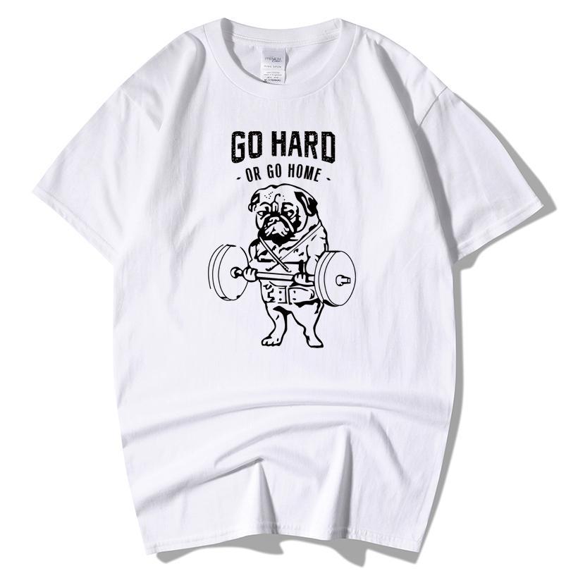 33361370fa5 Men S Fashion T Shirt Short Sleeve GO HARD DR GO HOME Cotton 3d Printing  Tshirt Homme Fitness Tops Summer Style T Shirt Printing On T Shirts Crazy T  Shirts ...