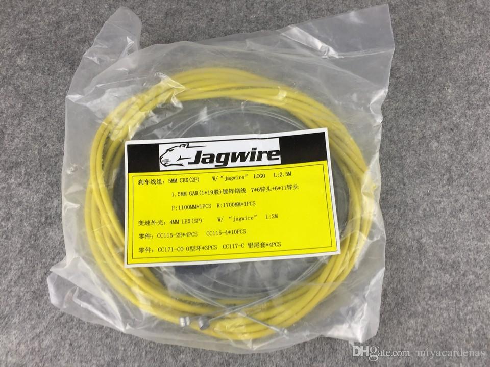 Jagwire Yol Bisikleti / MTB vites bisiklet fren kablosu seti Bisiklet Derailluer Fren Kablo fren kablosu kontrol hattını / bisikletler
