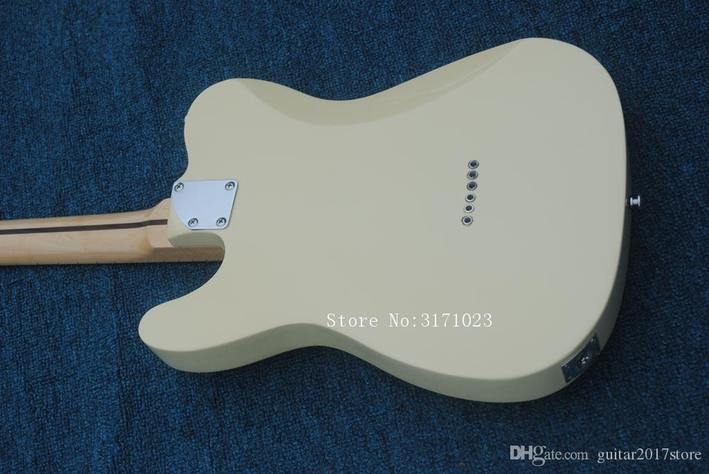 Custom Shop '52 American Deluxe Maple Telecaster Natural Tele Chitarra elettrica Butterscotch Blonde Black Pickguard Maple Neck Dot Inlay