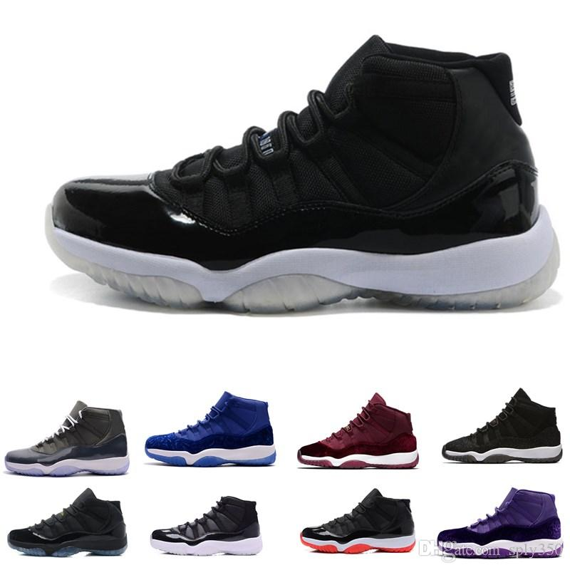 662430b521a 11s Prom Night Basketball Shoes 11 Men Women Cap And Gown Gym Red Space Jam  Concord PRM Heiress Bred Gamma Blue Sports Sneaker Shoes Canada Carmelo  Anthony ...