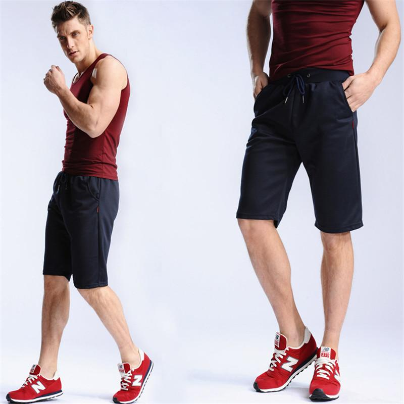 46f78b566609 2019 Mens Summer Shorts Sportswear Pants Jogger Tracksuit Sweat Shorts  Drawstring Short Pants Male Leisure Gym Short Trousers From Larch