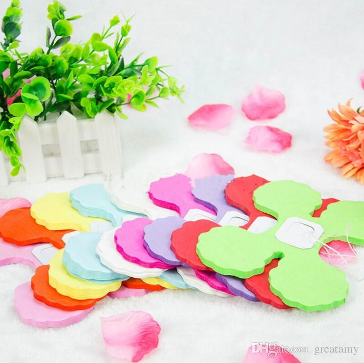 3.6 meters tissue paper garlands clover bunting party beautiful wedding home baby shower birthday party festivals decoration supplies