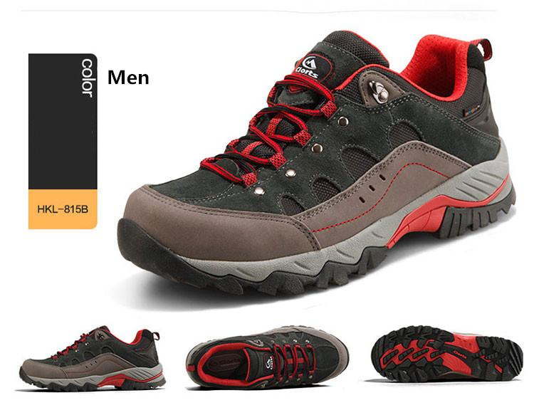 540d7b37033 2018 Clorts Men Hiking Sneakers Low-Cut Sport Shoes Breathable Hiking Shoes  Men Athletic Outdoor Shoes For Men Hkl -815