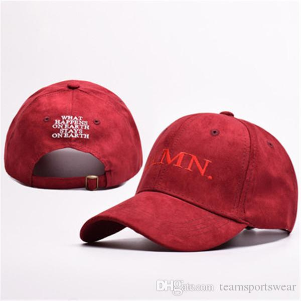 2019 New Wine Red Kendrick Lamar Damn Cap Embroidery DAMN Unstructured Dad  Hat Bone Women Men Rapper Snapback Outdoor Sports Baseball Caps From ... 3380c68c6a8