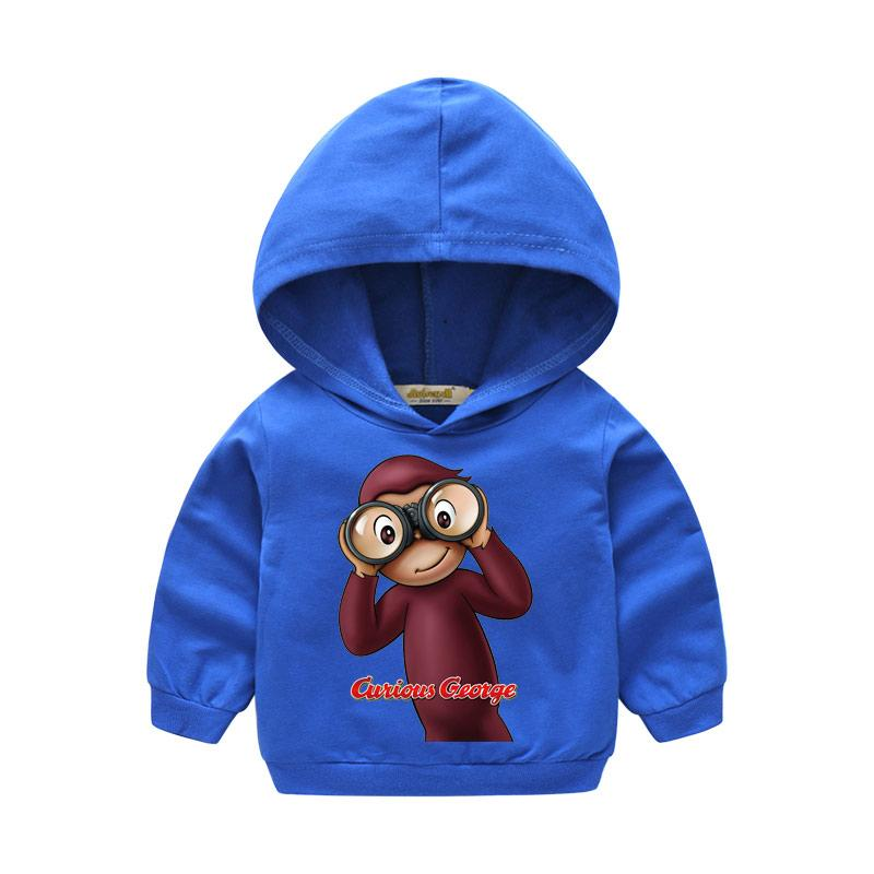 90406f5e6 2019 Boy Girl Autumn Hooded Cartoon Curious George Clothes For Kids Winter  Thin Hoodies Children Hoody Clothing Baby Sweatshirt LM019 From  Wonderfulss, ...