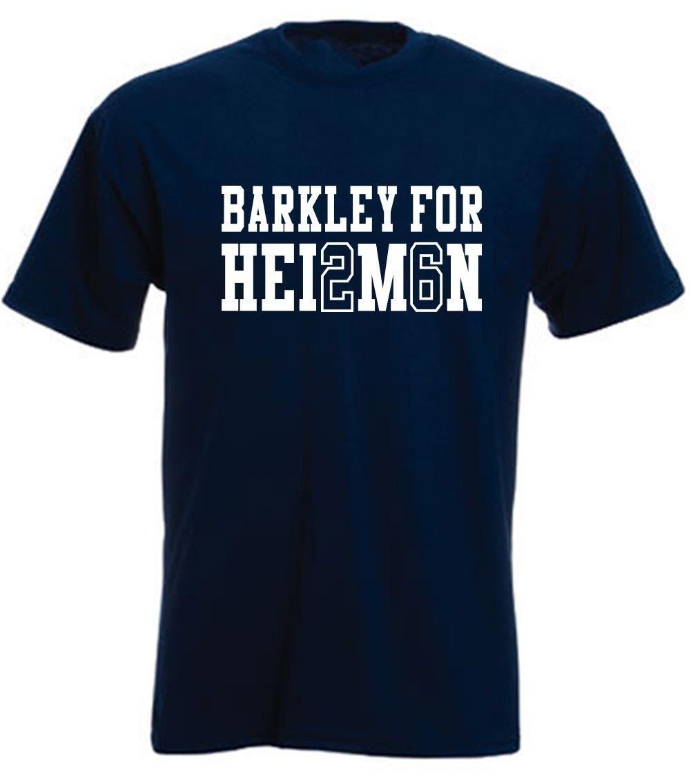 low cost a2d12 a6733 Saquon Barkley Penn State for Heisman jersey T-shirt Shirt