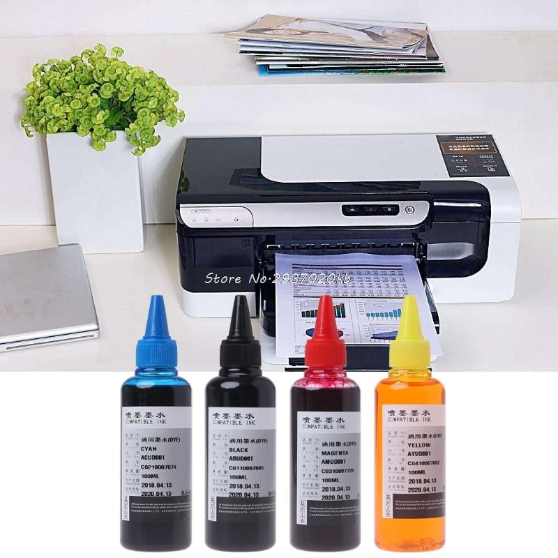 100ml Universal Dye Ink Compatible For Brother For HP CANON All Inkjet  Print DULL5