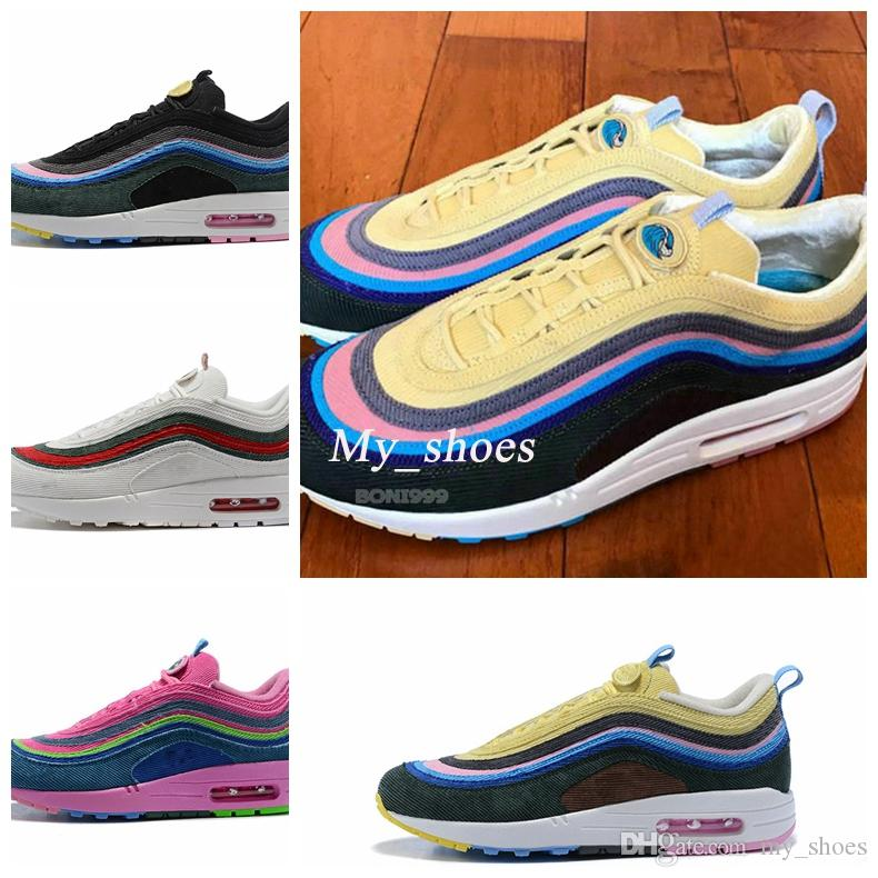 567e97a5c469 2018 New Sean Wotherspoon X 97 VF SW Hybrid Running Shoes For Men ...