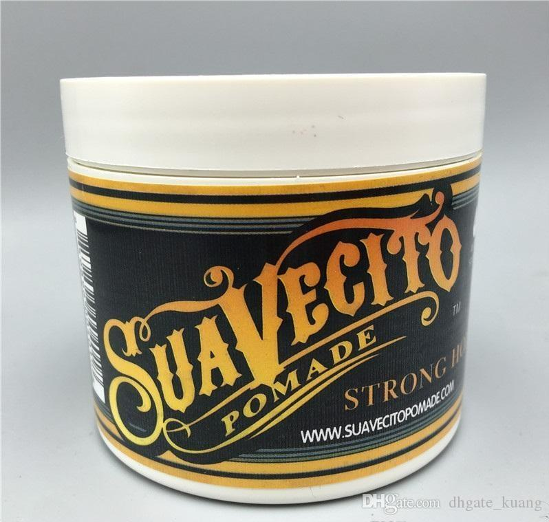 Suavecito Pomade Gel 4oz 113g Strong Style Restoring Ancient Ways is Big Skeleton Hair Slicked Back Hair Oil Wax Mud
