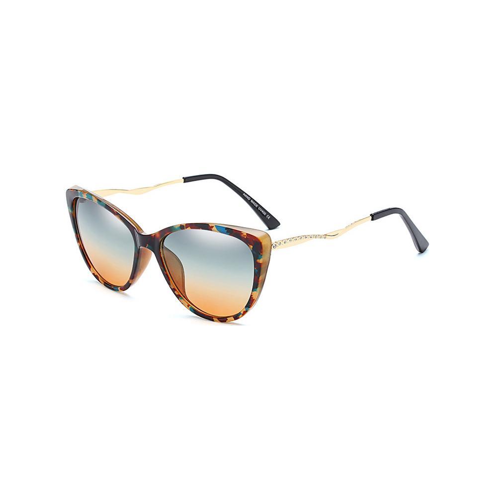 ac32c23d0e Compre Moda Gafas De Sol Con Estilo Mujeres 2018 Nuevo Diseñador Metal  Plástico Gafas De Sol Nuevas Gafas De Sol Vintage Para Mujeres A $27.7 Del  Winwin2013 ...