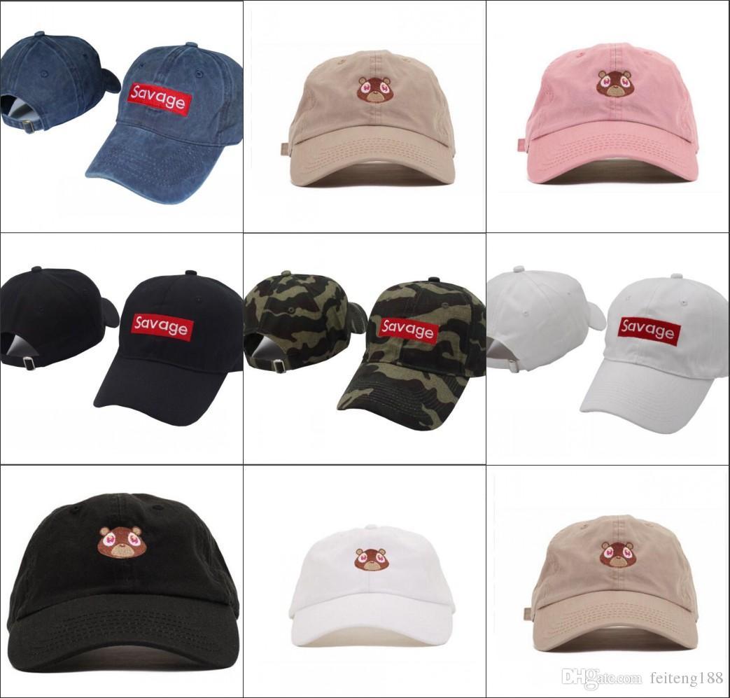 2018 New Savage Baseball Cap Embroidery Men Dad Hat Cotton Bone ... 73e026ff98bf