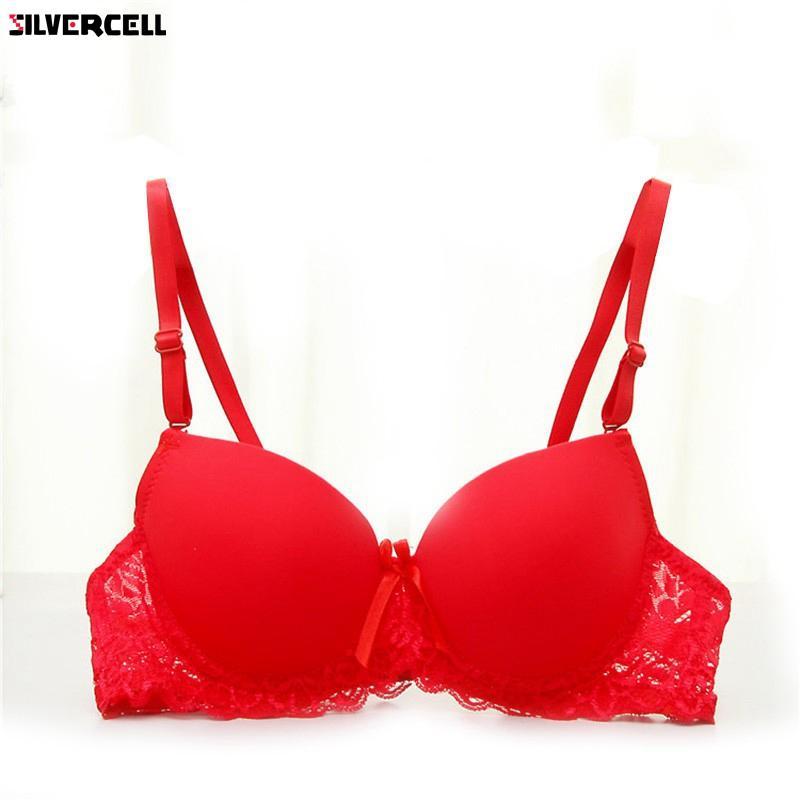 21c6565bae76b Women Bra Lace Underwire Lingerie Underwear Push-Up Bra Padded Brassiere  34A-36B Women Bra Bra Lace Women Bra Lace Online with  39.54 Piece on  Silan s Store ...