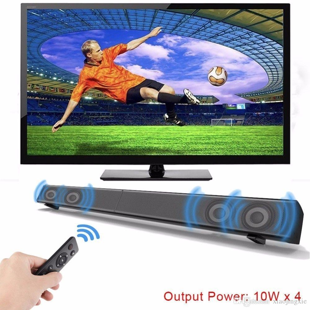 LP-09 Home Theater Wideband Audio Sound Bar Bluetooth 4 0 AUX Speakers Home  TV Echo 3D Surrounded Speaker Amplifier for TV PC Phone TF Card