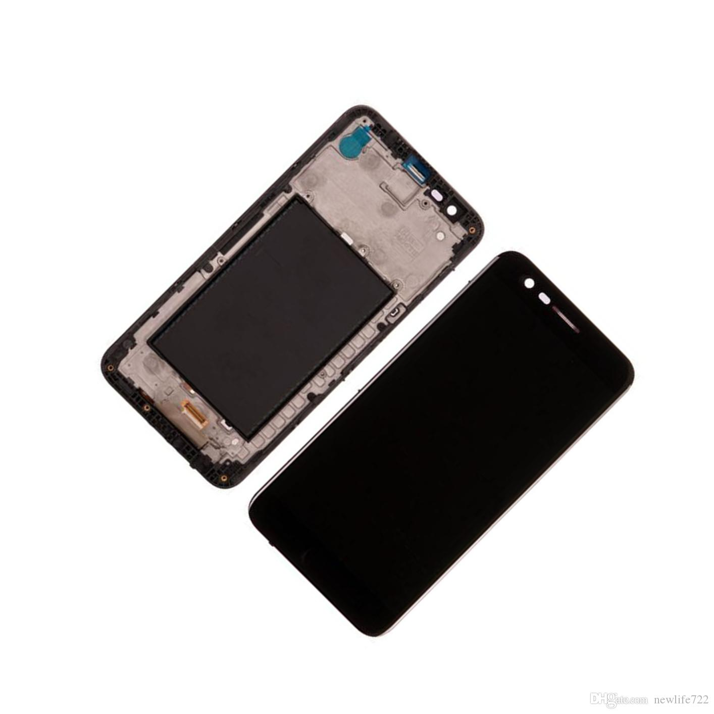For LG K20 Plus MP260 VS501 K10 2017 Original LCD Digitizer Touch Screen  Display With Frame Full Assembly 5 3inch Screen Repair Parts