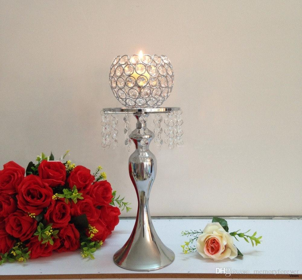 40cmh Crystal Ball Candle Holder Wedding Flower Vase Table