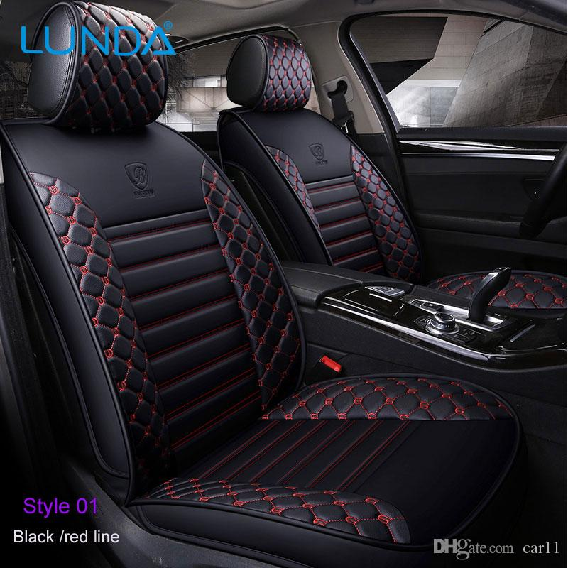 2018new Pu Leather Auto Car Seat Covers Fit Mercedes Benz A C W204