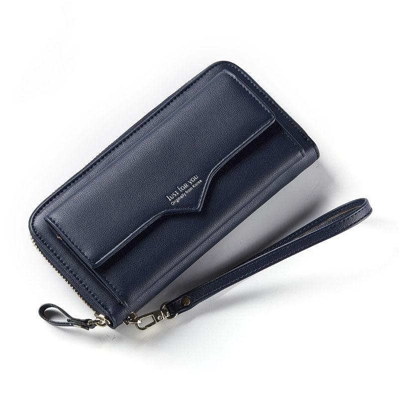 d8154ea47034 Fashion Long Woman Purse New Designer Female Wallet Clutch PU Leather  Ladies Purses Card Holder Women Phone Bags Wallets Handbag Long Purse  Online with ...