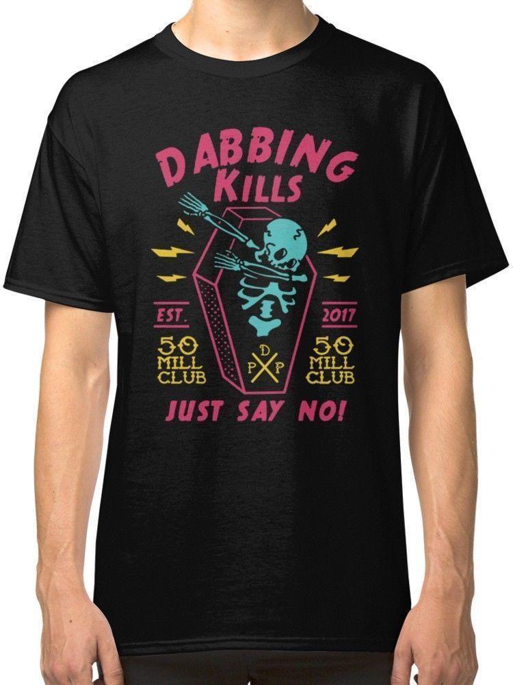 7e744a2edff NEW Dabbing Kills Pewdiepie T SHIRT S 3XL MAN WOMAN Newest 2018 Fashion  Stranger Things But T Shirts T Shirts Funky From Lijian84