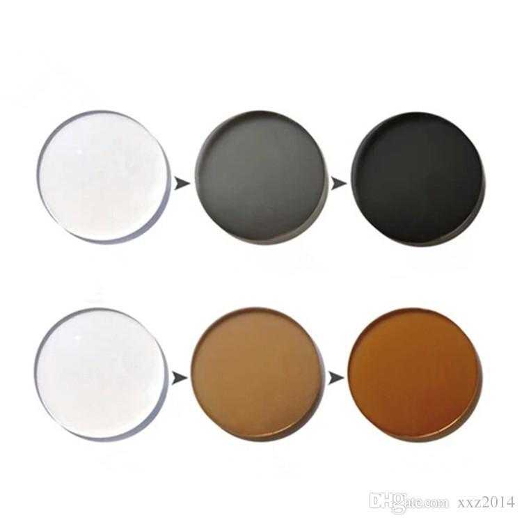 RX-Lens العدسات اللونية التقدمية 1.56 HMC + EMI 12mm14mm الممر المعطي التركيز النظارات الطبية المعبأة التركيز للنظارات الشمسية
