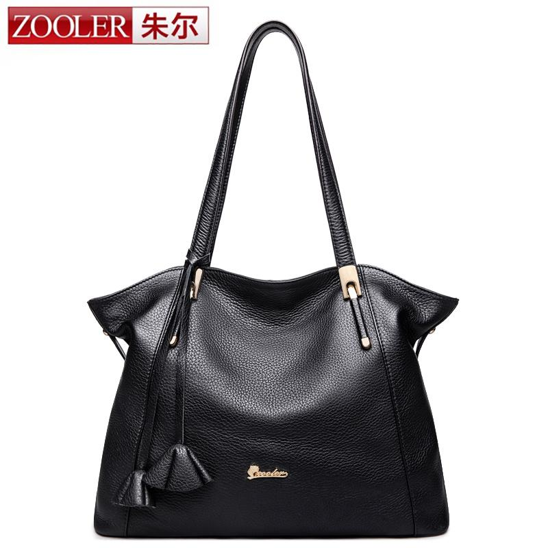 ZOOLER Summer women leather bags luxury genuine leather handbags women bags stylish lady shoulder bag bolsa feminina #1080