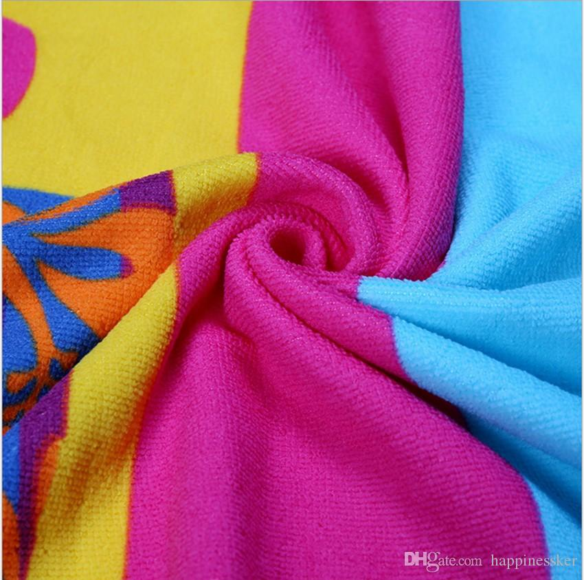 مستطيلة الشاطئ منشفة رقيقة القطن الدلفين منشفة بطانية منشفة اليوغا حصيرة بالجملة