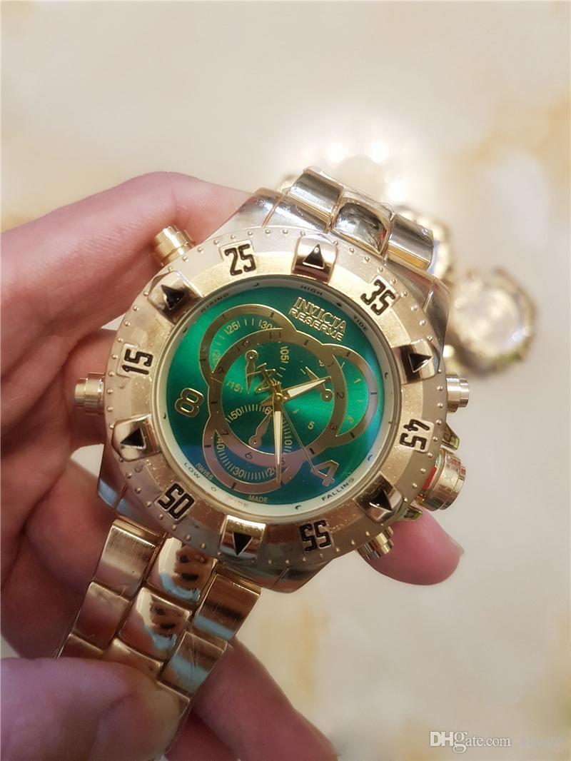 becb5f04acf Compre 2018 América Brasil Hot Produto INVICTA Relógio Ao Ar Livre Escalada  De Montanha Homens Relógios De Quartzo Grande Mostrador DZ S1 Relógio De  Pulso ...
