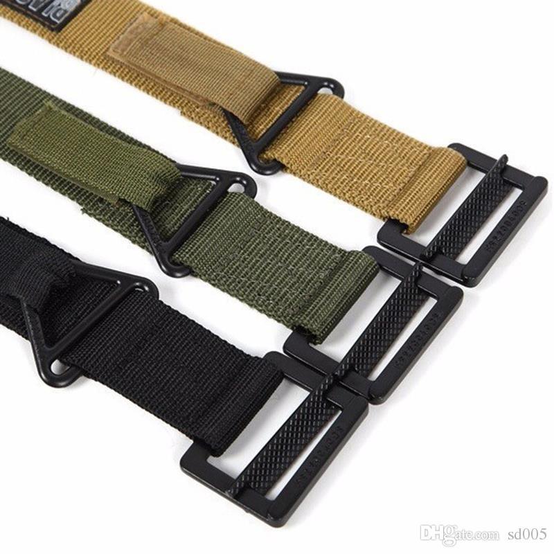 Durable Military Blackhawk CQB Nylon Belt Portable With Black Buckle  Waistband For Men Outside Strengthening Tactical Belts Popular 12ln B