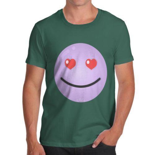 20e1338f36ef9 Twisted Envy Men S Purple Love Emoji T Shirt Retro T Shirt Design Tee Shirts  From Cyclingteeshirt